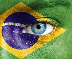Brazil flag face paint_oncology news australia