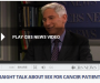 Straight talk about sex for cancer patients   Oncology News Australia  Straight Talk about Sex