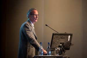 """International guest Prof Tim Maughan presenting """"Integrating new agents - a medical oncology perspective"""""""