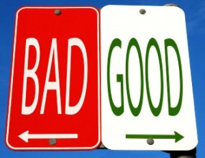 bad and good concept_oncology news australia