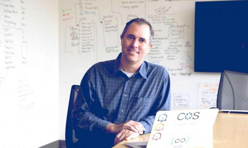 UVA psychology professor Brian Nosek heads up the Center for Open Science, which is seeking to replicate research in many fields of science. Credit: Dan Addison, University Communications Read more at: https://medicalxpress.com/news/2017-01-cancer-replicated-complicated.html#jCp