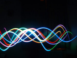 colour swirls like dna