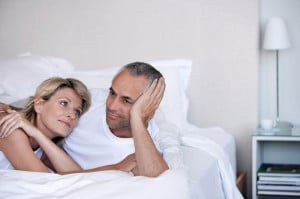 couple in bed vasectomy prostate cancer risk oncology news australia 800x500
