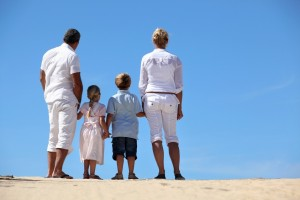 family at the beach_oncology news australia