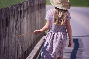 girl portrait stick fence_child childhood cancer_oncology news australia