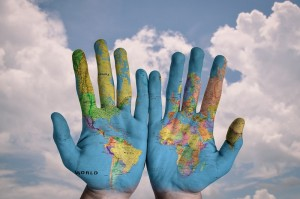 globe global issues hands with map concept_oncology news australia