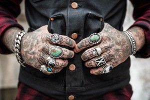 man with tattooed hands_oncology news australia
