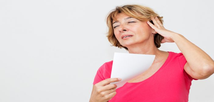 Persistent hot flashes may lead to increased risk of breast cancer