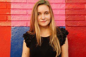 teenage girl outdoor coloured background_oncology news australia