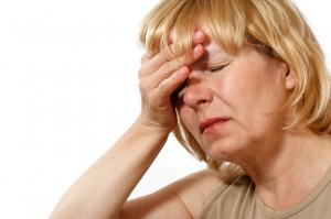 woman menopausal ill nausea sickness headache tired side effects_oncology news australia