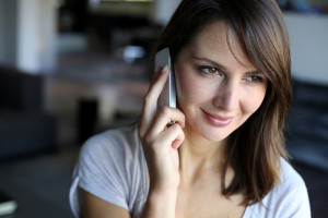 woman talking on mobile phone_oncology news australia