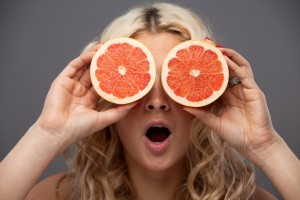 young woman grapefruit_healthy eating_oncology news australia