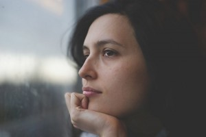 young woman pensive thoughtful_oncology news australia